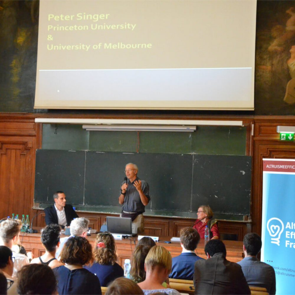Intervention de Peter Singer